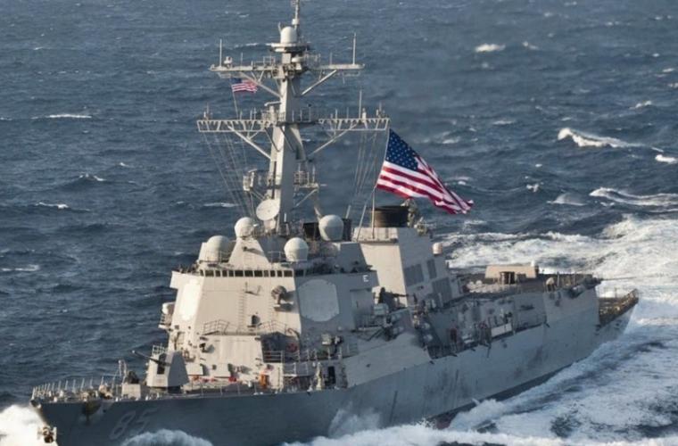 Un distrugător american a intrat în Marea Neagră