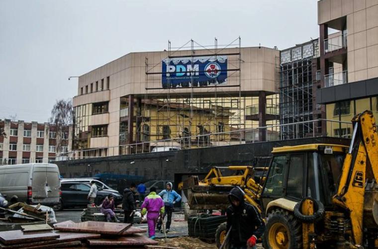 Democrații se mută în fostul sediu al PCRM? (FOTO)