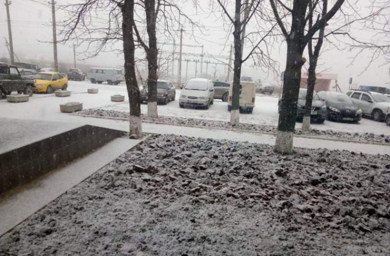 La nordul țării iarna a intrat în drepturi (FOTO)