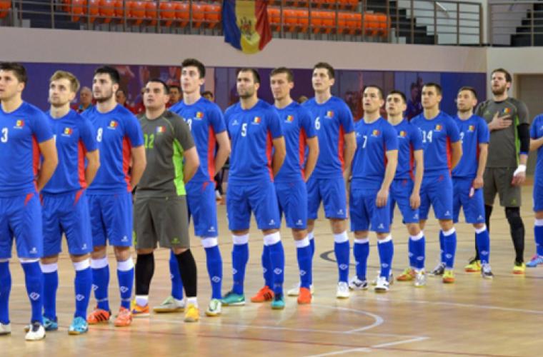 Naționala de futsal a învins la scor echipa Turciei