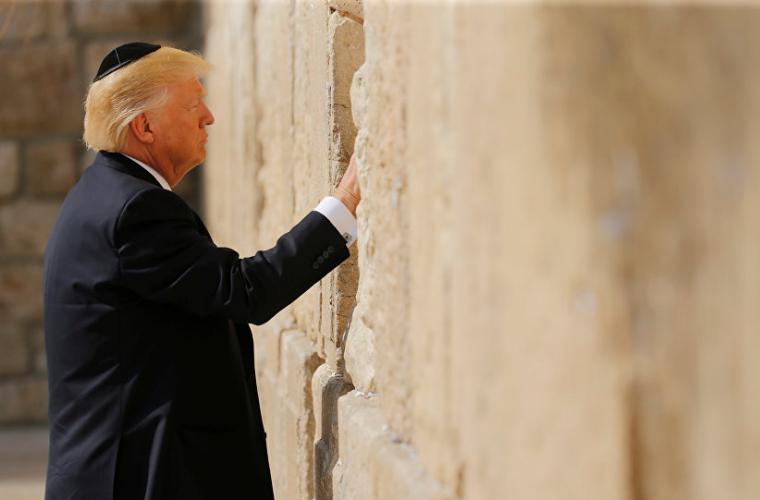 Trump a anunțat că SUA recunosc orașul Ierusalim drept capitală a Israelului