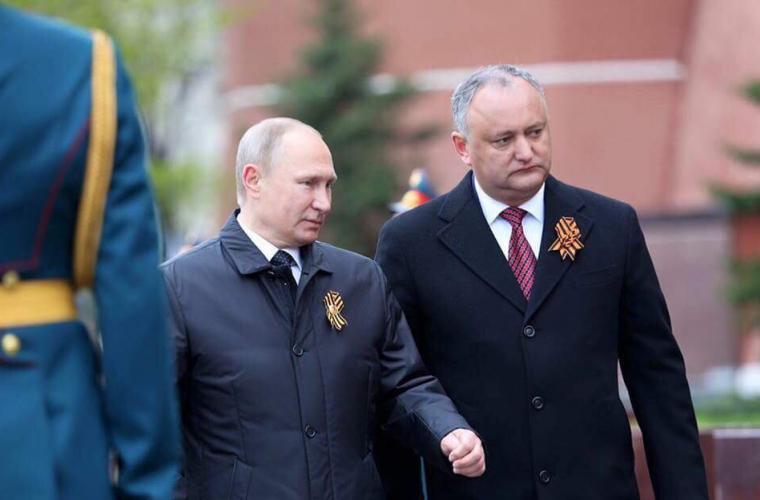 Dodon a comentat participarea lui Putin la alegerile prezidențiale din FR