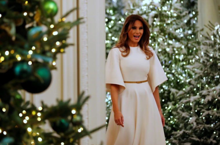 Melania Trump a descris Crăciunul ideal