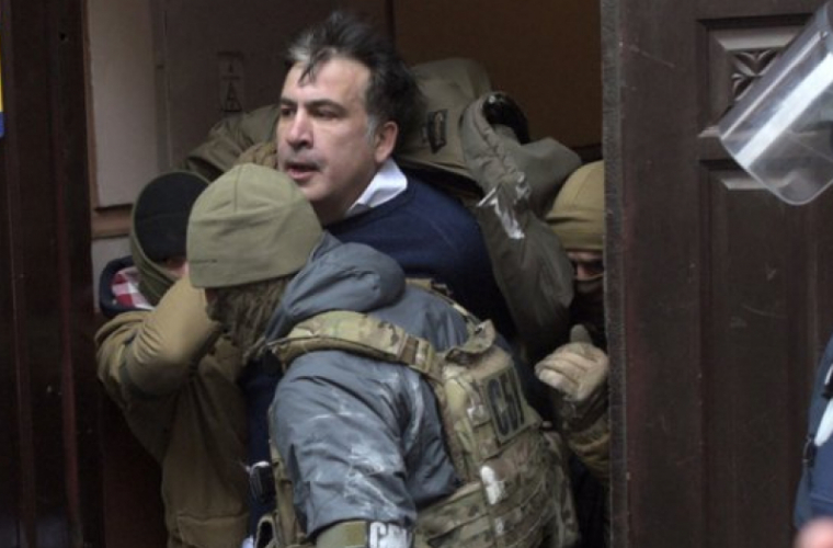 Mihail Saakaşvili, a fost arestat la Kiev