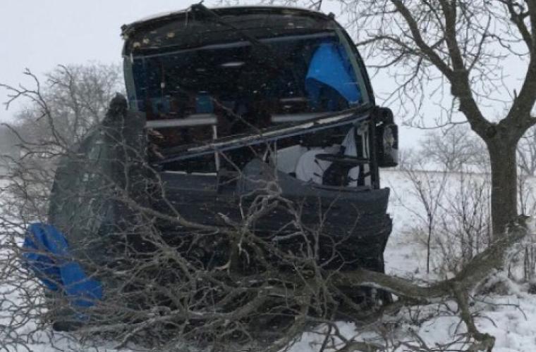 Accident pe traseul Leuşeni - Chişinău