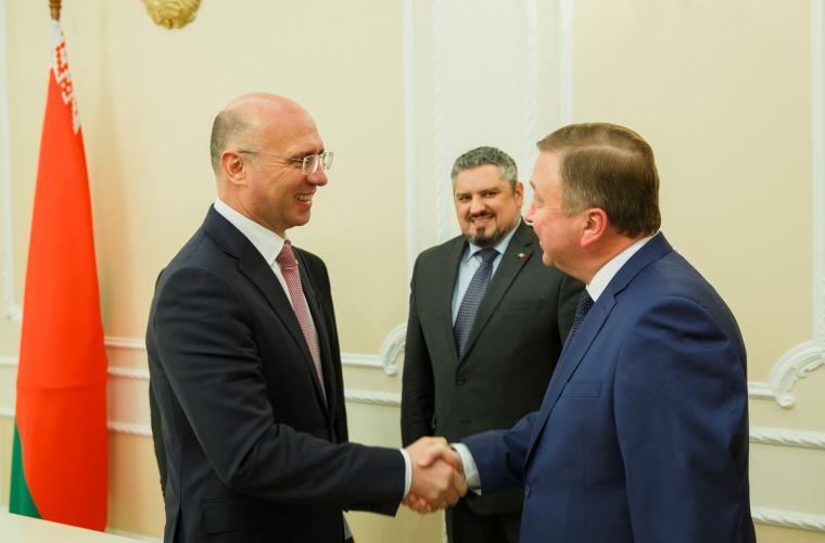 Moldova și Belarusul vor extinde cooperarea bilaterală în mai multe domenii