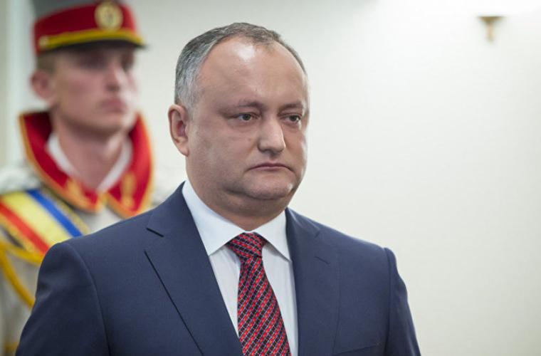 Реакция президента Додона на вызов из России посла РМ