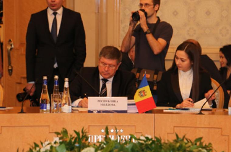Andrei Neguță a condus delegaţia RM la ședința Consiliului Economic al CSI