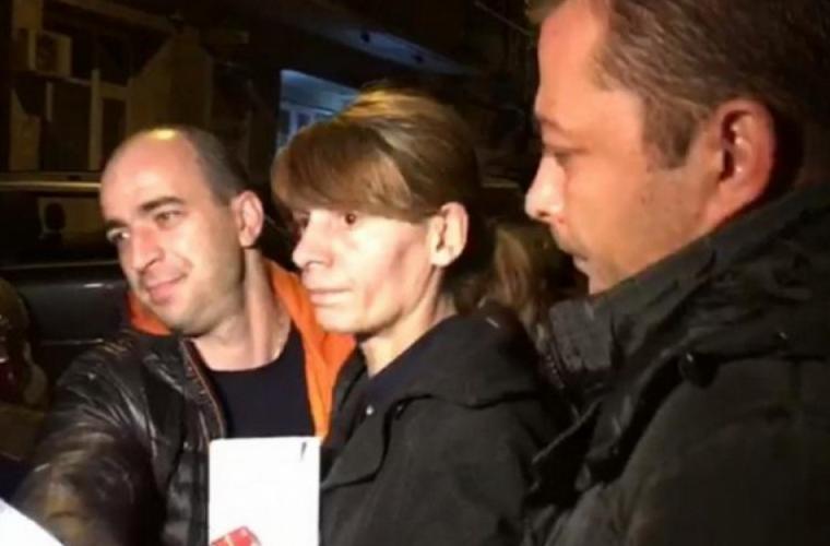 Criminala de la metrou a atacat trei gardience în pușcărie