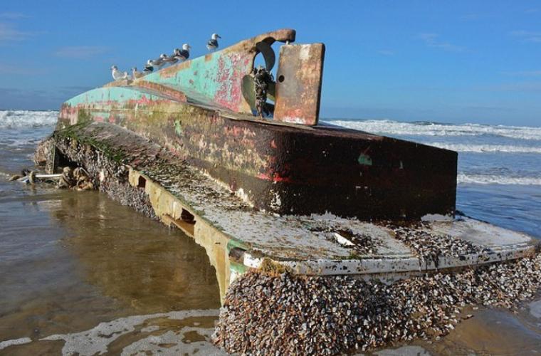 """O navă-fantomă, descoperită pe coasta SUA. Ce """"încărcătură"""" preţioasă avea"""