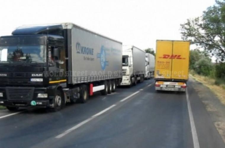 Transportul de mărfuri în Moldova a crescut cu un sfert