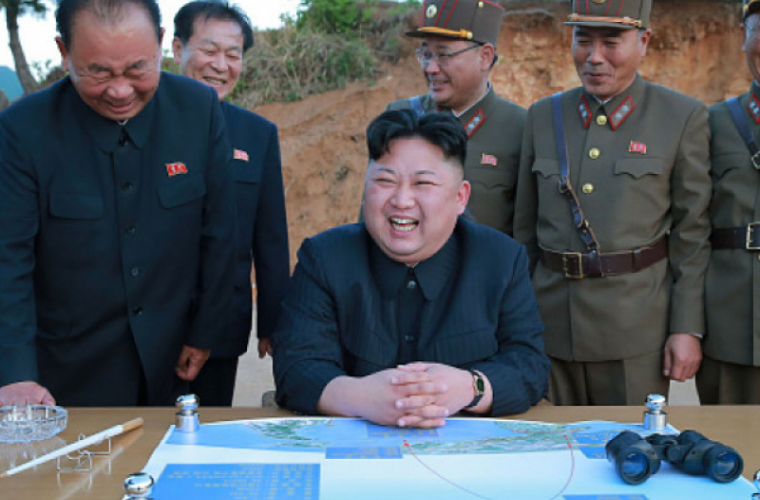 Kim Jong-un: Am tot timpul butonul nuclear pe birou