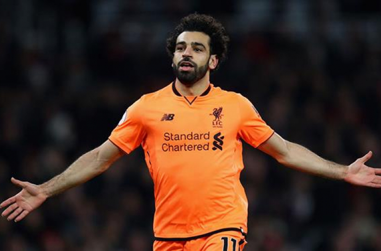 Egipteanul Mohamed Salah, desemnat cel mai bun jucător arab în 2017