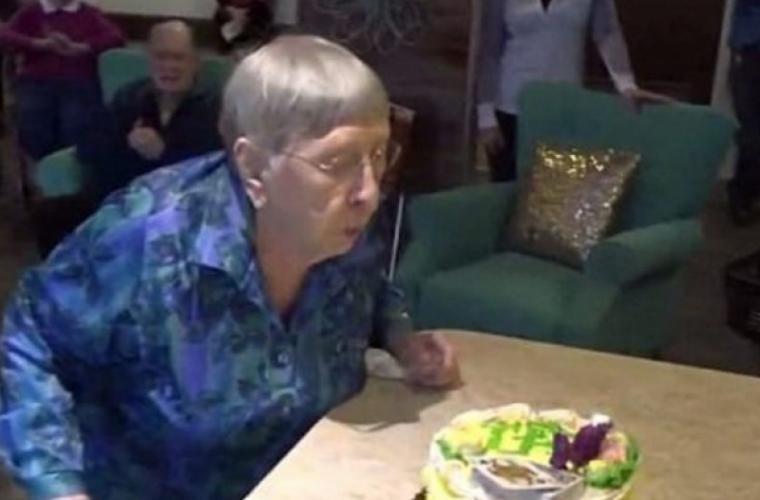 O femeie în vîrstă de 104 ani a mărturisit secretul longevității sale