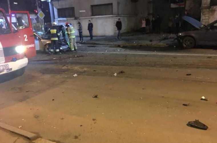 În centrul capitalei s-a produs un accident