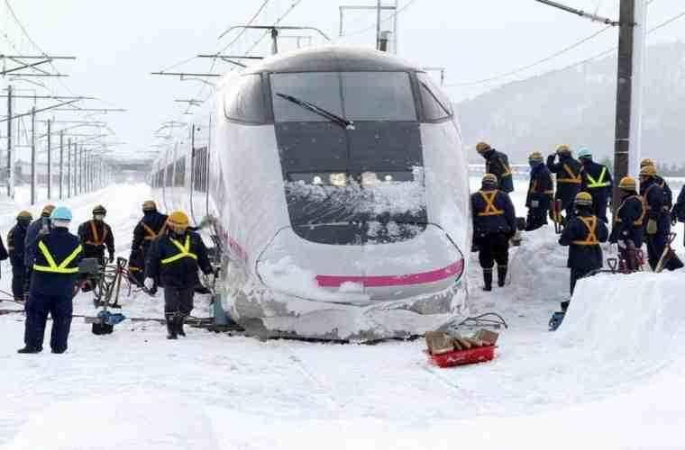 Граждан России  предупредили о трудной  ситуации вЯпонии из-за снегопадов