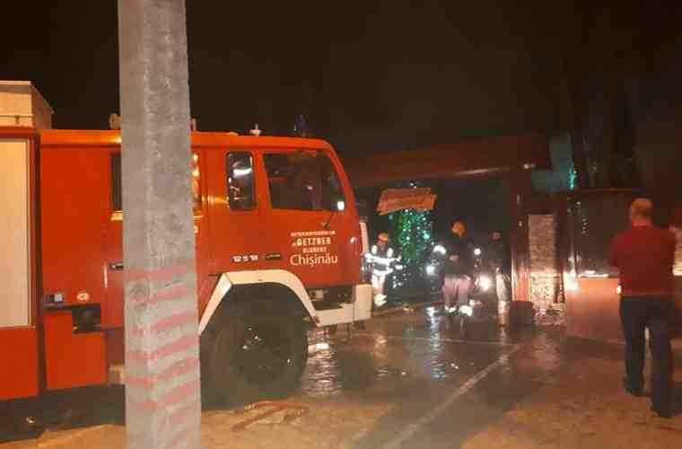 Cauza izbucnirii incendiului de la restaurantul din sectorul Rîşcani