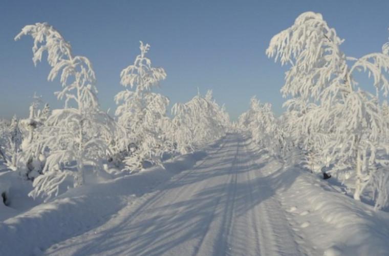 Zăpada, tratamentul cosmetic gratuit al iernii