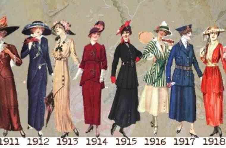 Cum se îmbrăcau femeile acum 100 de ani (FOTO)