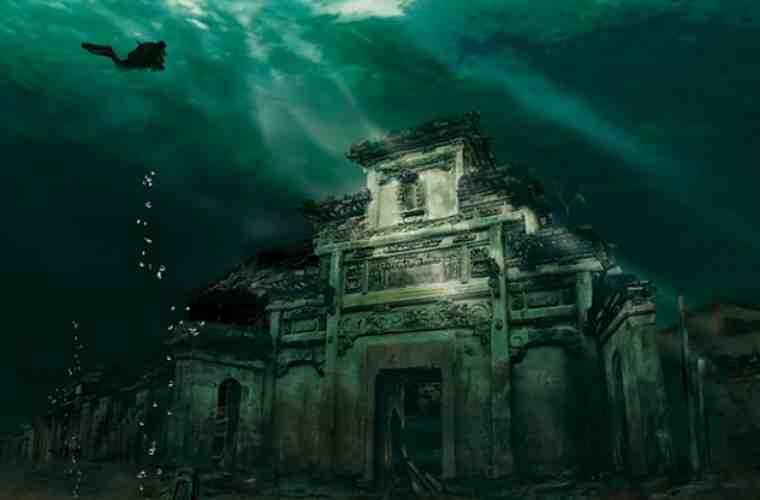 A fost descoperit un oraş sub apă, vechi de 1341 de ani (FOTO)