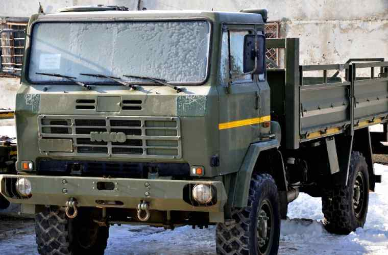 Italia a donat echipament şi tehnică militară Armatei Naţionale