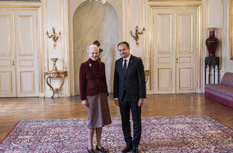 Margareta a II a Danemarcei interesată de evoluțiile din Republica Moldova