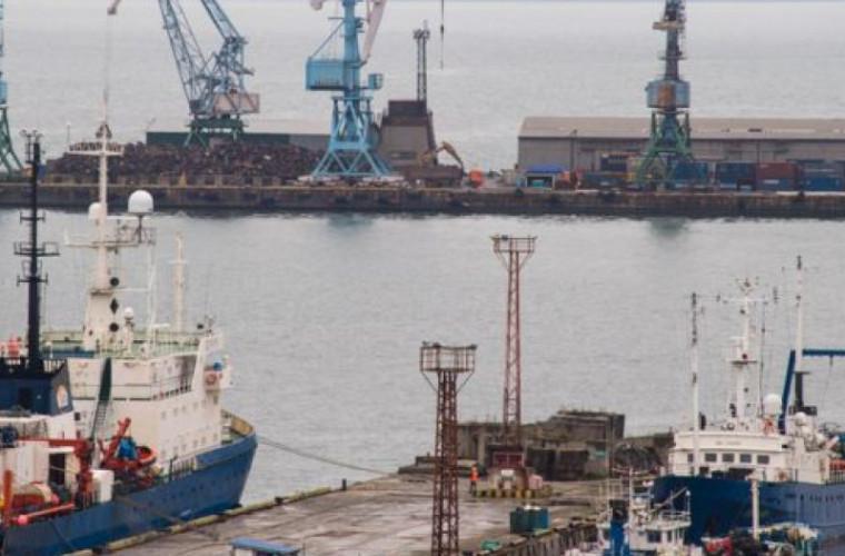 O navă rusească a dispărut în larg
