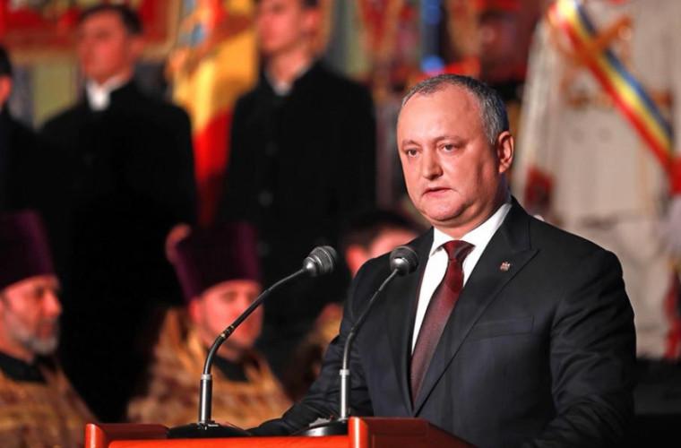 Componența Consiliului Suprem de Securitate va fi modificată de Dodon