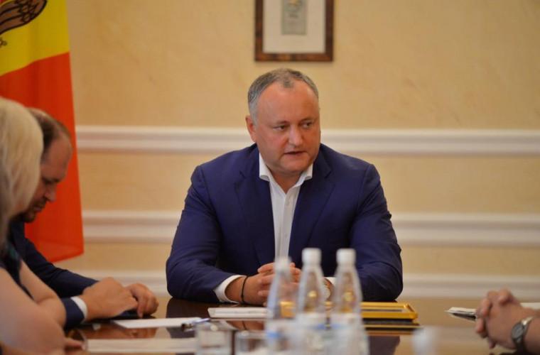 Dodon, despre importanța piețelor din Est pentru Moldova