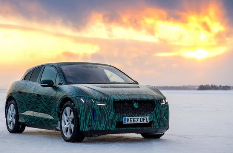 Compania Jaguar Land Rover a testat Jaguar I-PACE în condiții arctice