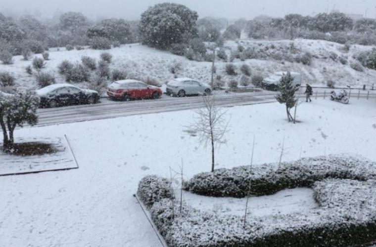 Spania, paralizată din cauza ninsorilor