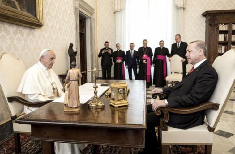 Prima vizită a unui preşedinte turc la Vatican, în ultimii 59 de ani