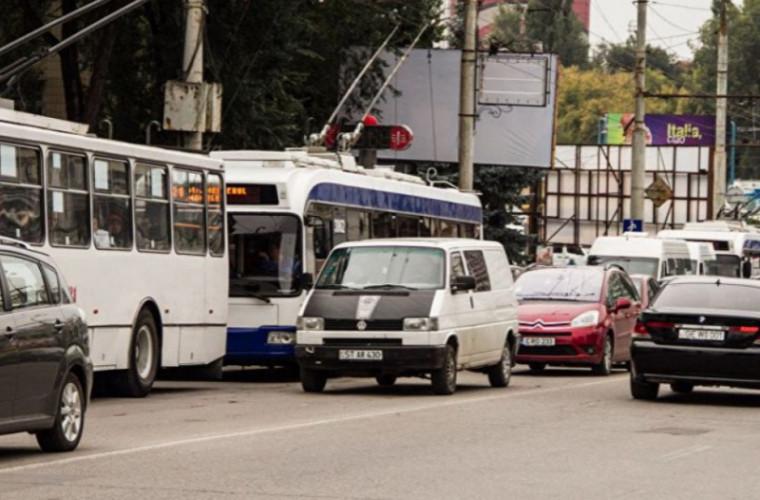 Traficul rutier va fi suspendat pe o stradă din Chișinău