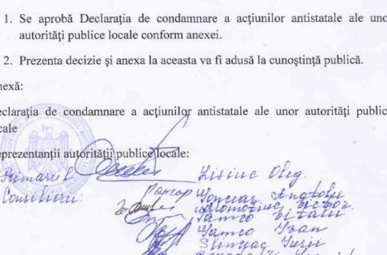 În doar patru zile, 120 de localități au semnat declarația anti-unire