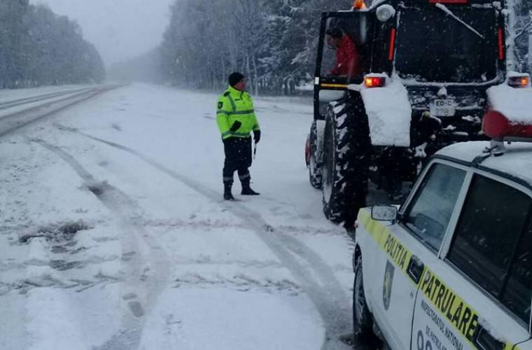Traseele naționale sînt împînzite de radarele poliției