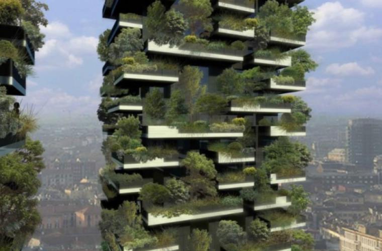 Cum arată prima pădure verticală din lume (VIDEO)