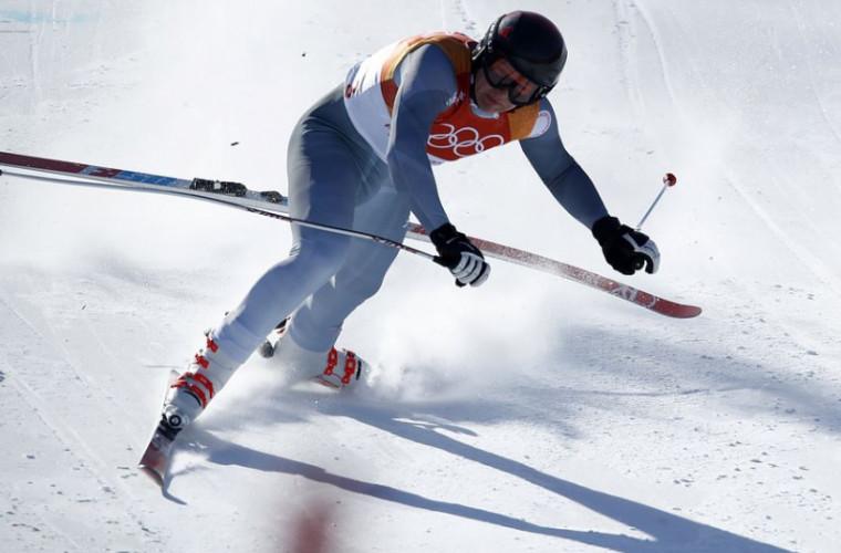 A fost publicat videoclipul cu căderea schiorului rus la Jocurile Olimpice