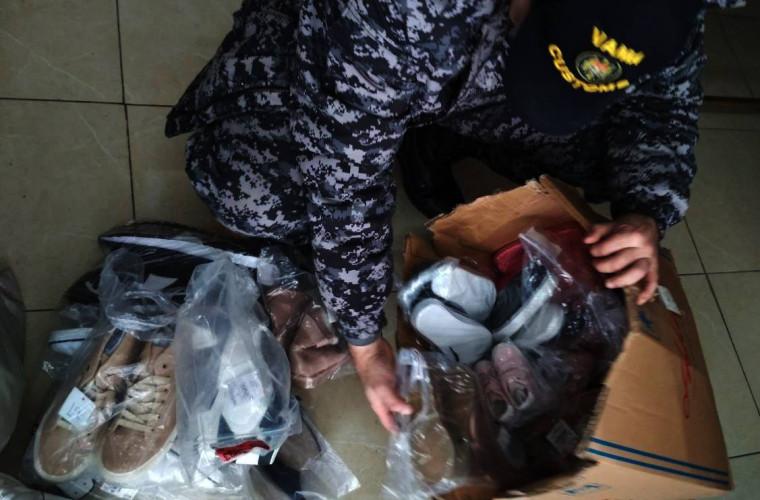 Mărfuri de peste 220 de mii de lei, reţinute de inspectorii Serviciului Vamal