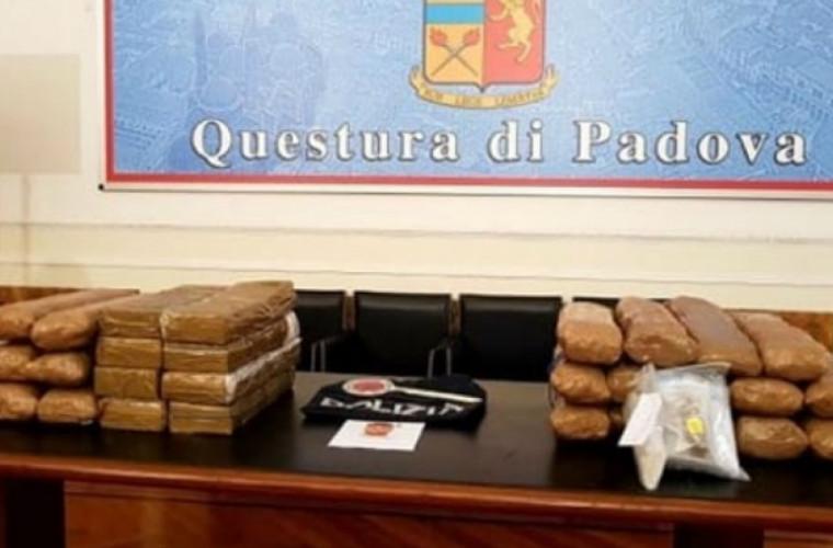 ITALIA: Moldovean reținut cu 90 de kilograme de droguri