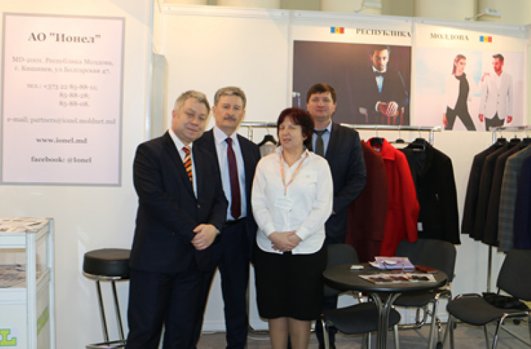 Cinci companii moldovenești au prezentat produse textile la Moscova