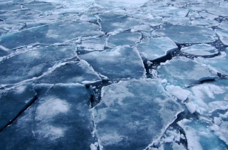 Cod galben de gheaţă fragilă pe rîuri şi lacuri