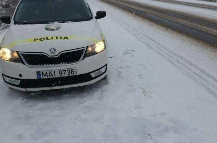 Atenție, şoferi! Se circulă în condiții de ninsoare!