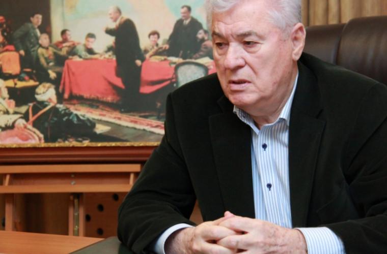 Voronin comentează declarația lui Dudnic