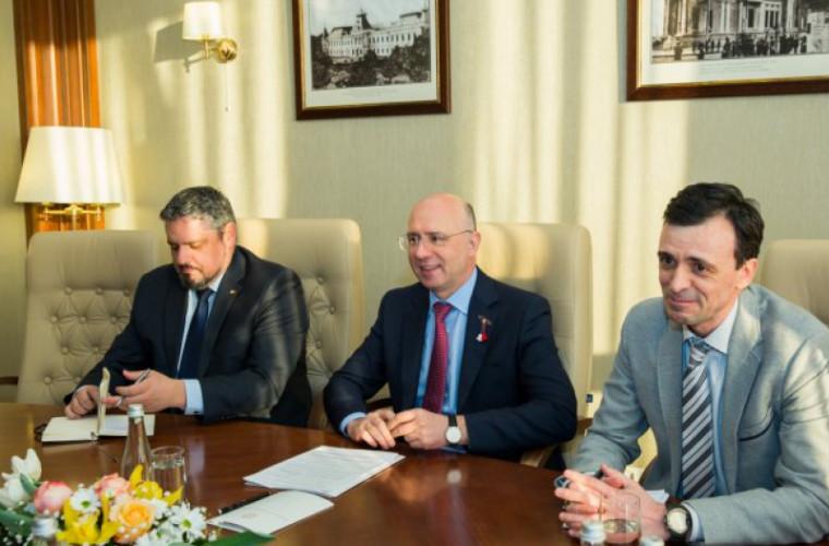 Filip a avut o întrevedere cu reprezentanții Consiliului Atlantic
