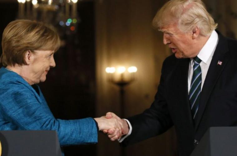 """Merkel și Trump se declară """"îngrijorați"""" de discursul lui Putin"""