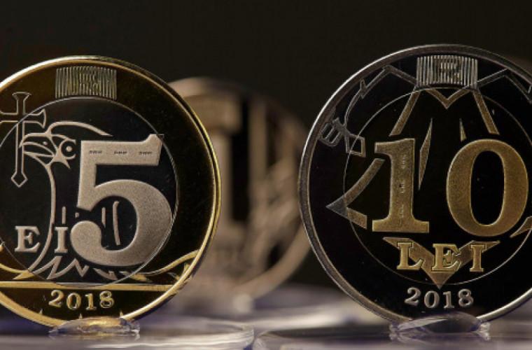 Cînd vor fi puse în circuit monedele de 1, 2, 5 și 10 lei (VIDEO)