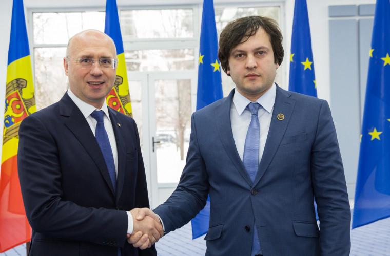 Prim-ministrul Georgiei va vizita Moldova