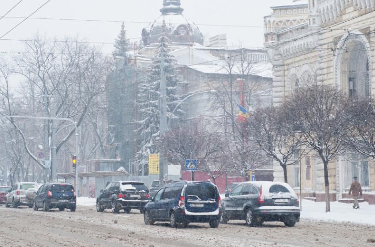 Cum se circulă în municipiul Chişinău, la această oră