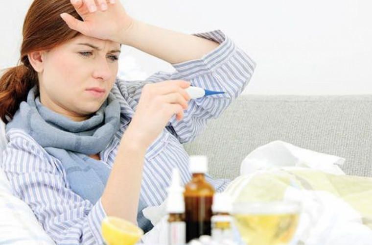 Doar în ultima săptămînă au fost înregistrate 110 cazuri noi de gripă