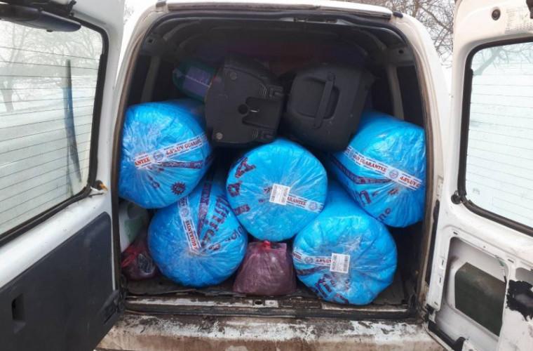 Mărfuri transportate ilegal în zona frontierei